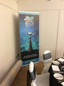 BIAZA roller banner